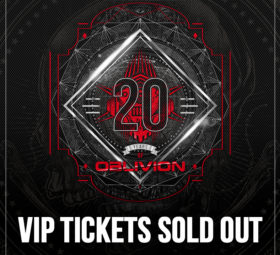 VIP TICKETS SOLD OUT - 20 Years Of Oblivion - Manchester (UK) - Halloween 2021 Edition